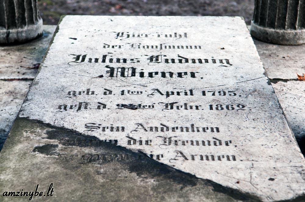 Klaipėdos senosios kapinės - 005