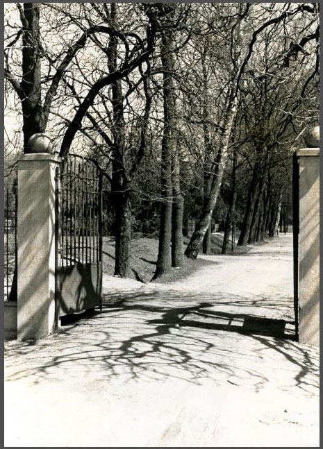 Klaipėdos senųjų kapinių vartai