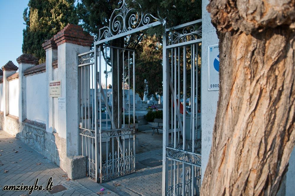Aravaca senosios kapinės, Madridas, Ispanija