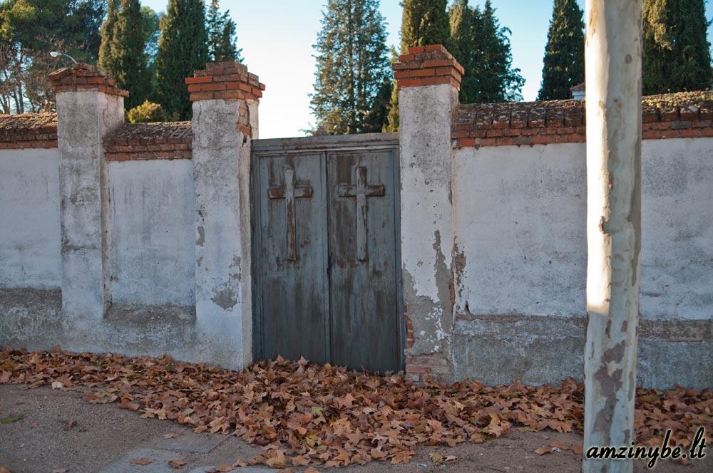 Aravaca senosios kapinės, Madridas, Ispanija - 003