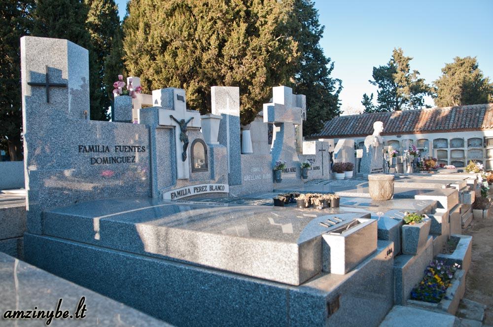 Aravaca senosios kapinės, Madridas, Ispanija - 004