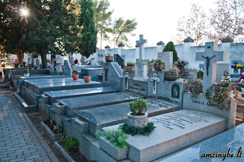 Aravaca senosios kapinės, Madridas, Ispanija - 006