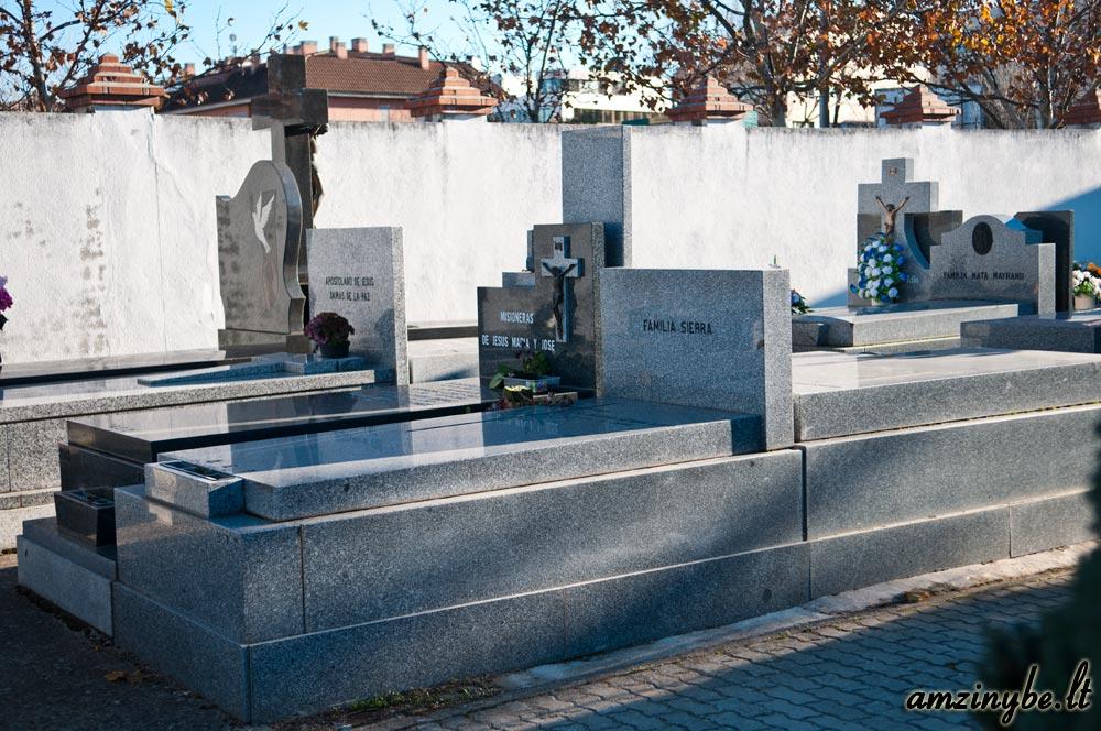 Aravaca senosios kapinės, Madridas, Ispanija - 007