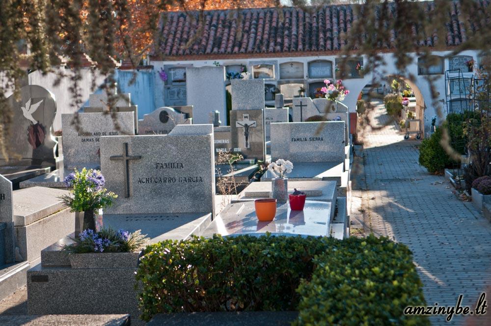 Aravaca senosios kapinės, Madridas, Ispanija - 009