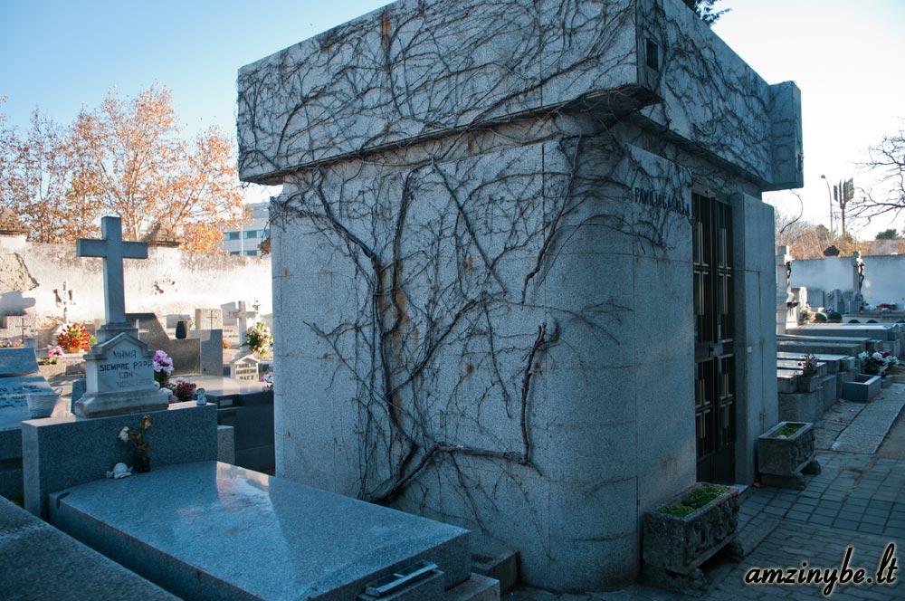 Aravaca senosios kapinės, Madridas, Ispanija - 011