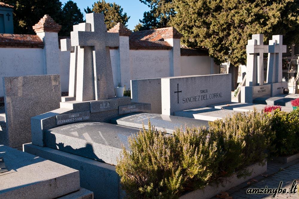 Aravaca senosios kapinės, Madridas, Ispanija - 012