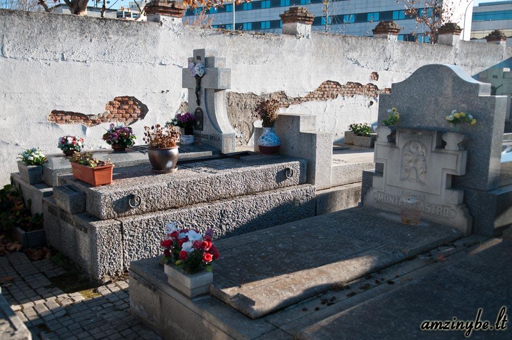 Aravaca senosios kapinės, Madridas, Ispanija - 013