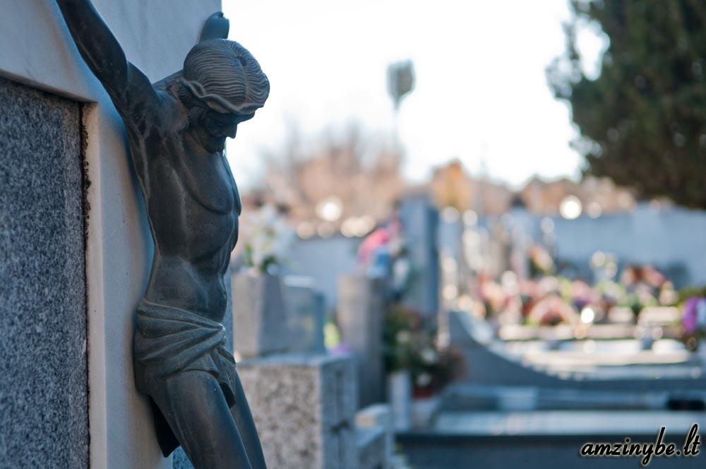 Aravaca senosios kapinės, Madridas, Ispanija - 015
