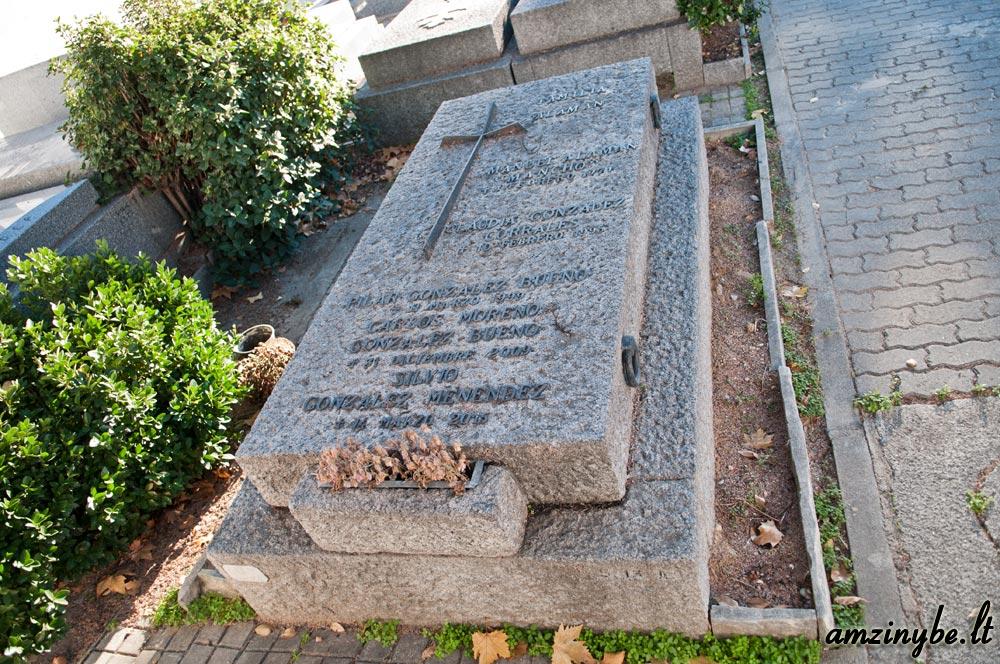 Aravaca senosios kapinės, Madridas, Ispanija - 017