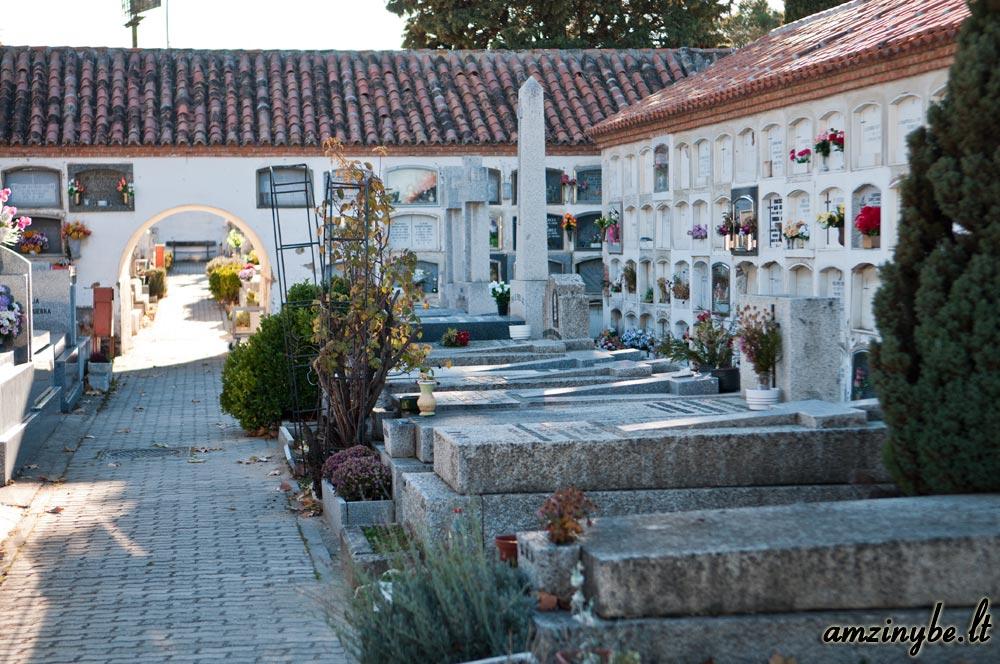 Aravaca senosios kapinės, Madridas, Ispanija - 018