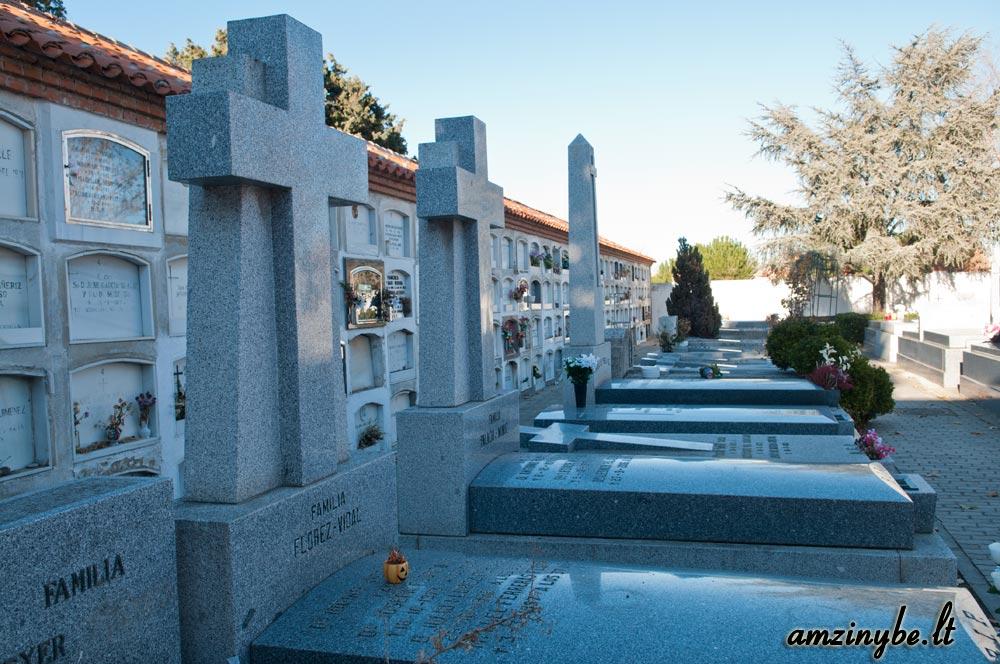 Aravaca senosios kapinės, Madridas, Ispanija - 020