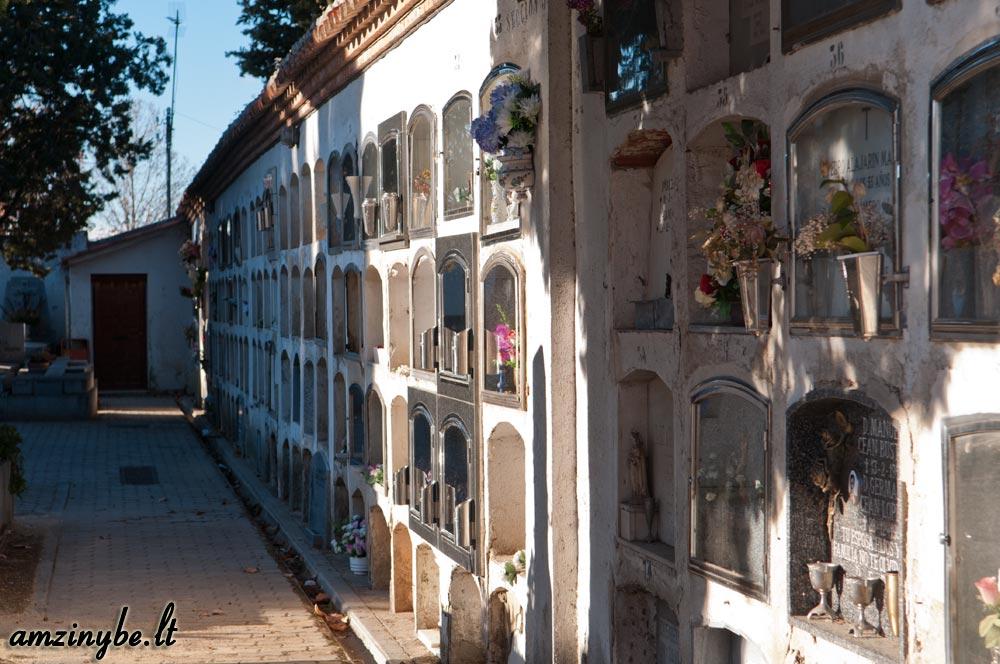 Aravaca senosios kapinės, Madridas, Ispanija - 021