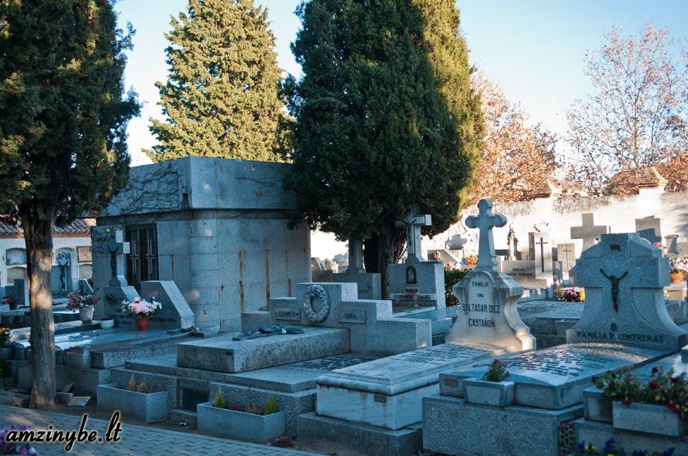 Aravaca senosios kapinės, Madridas, Ispanija - 022