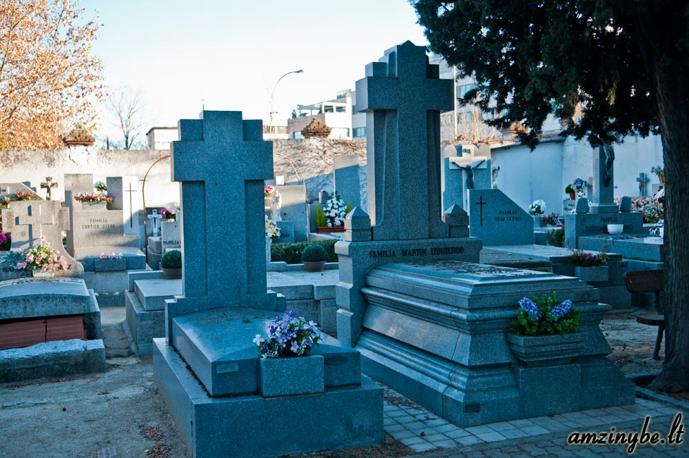 Aravaca senosios kapinės, Madridas, Ispanija - 023