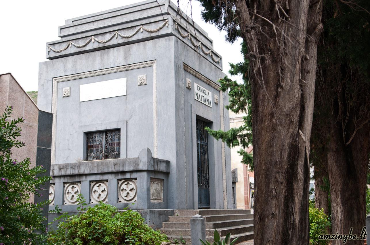 Sardinijos salos kapinės, Italija - 005